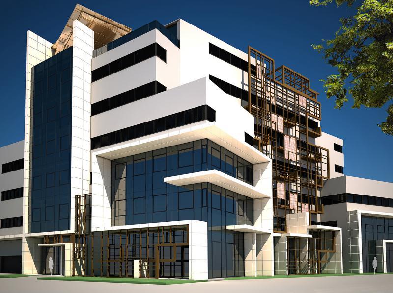 Entwurf Businesshotel P73